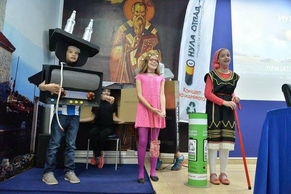"""ООУ """"БРАТСТВО"""" – прва награда во еко -акција"""